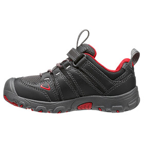 Keen Oakridge Low WP Shoes Kids Black/Tango Red